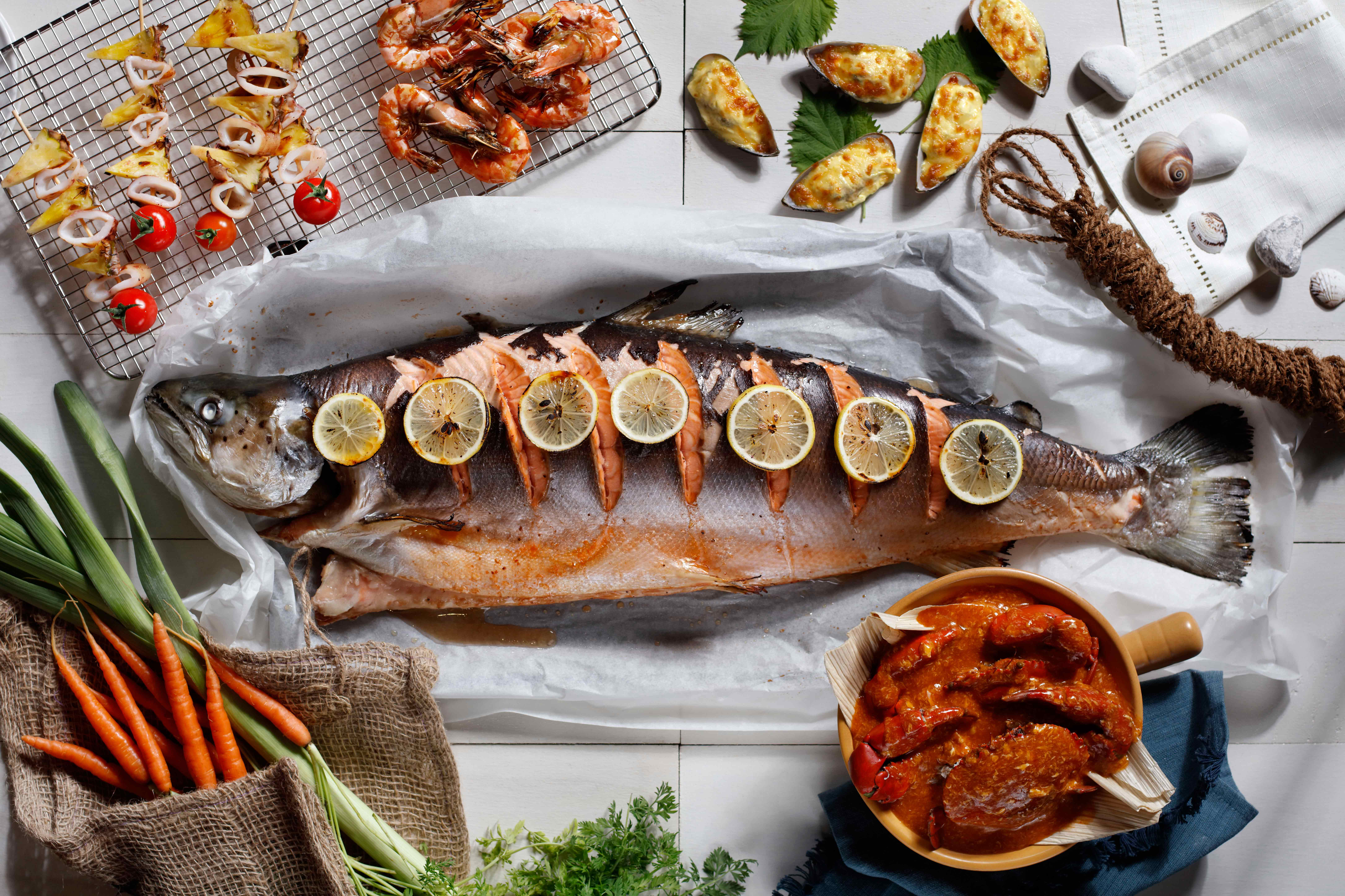 Sea & Grill Buffet Dinner | Carlton City
