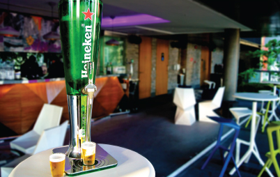 beer tower promotion
